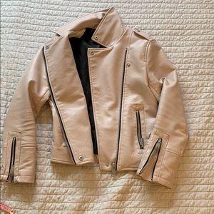 MANGO Pink Baker Jacket